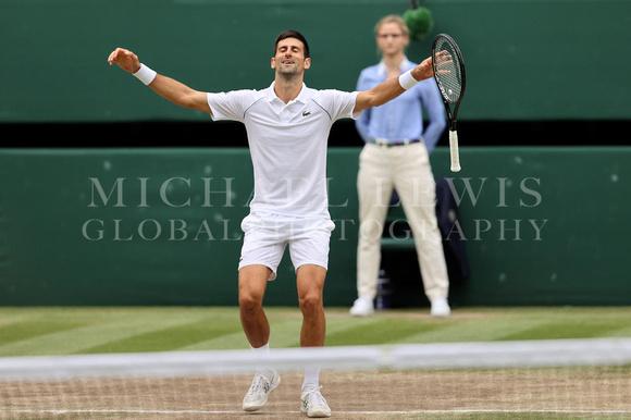 Novak Djokovic winbledon 2021
