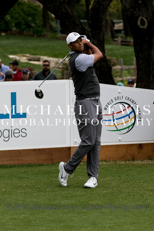 Tiger Woods at 2019 WGC - Dell Technologies Match Play