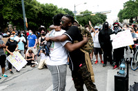 Protests erupt in Austin Texas Against Racism!