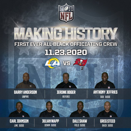 Black NFL Referees Making History