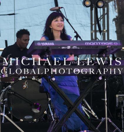 Keiko Matsui at the Los Cabos Jazz Festival 2021